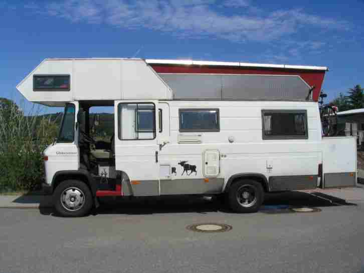 mercedes 508 wohnmobil 5 6 schlafpl tze wohnwagen. Black Bedroom Furniture Sets. Home Design Ideas