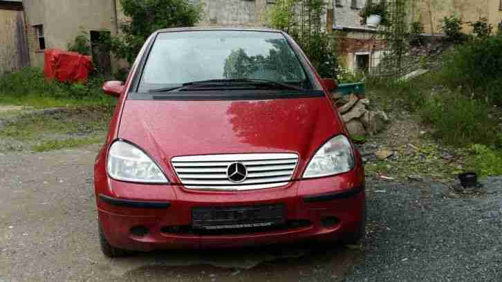 Mercedes A 160 Avantgarde W168 Bordeaux Rot