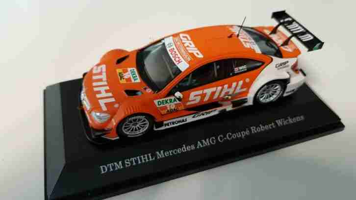 Mercedes AMG C Cupe Robert Wickens 1:43 MPN:B66961216