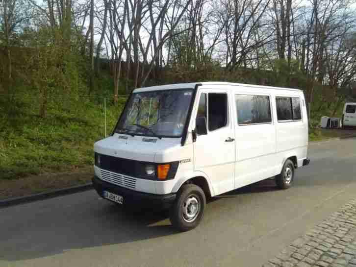 mercedes benz 208 diesel scheibenbus 9sitzer. Black Bedroom Furniture Sets. Home Design Ideas