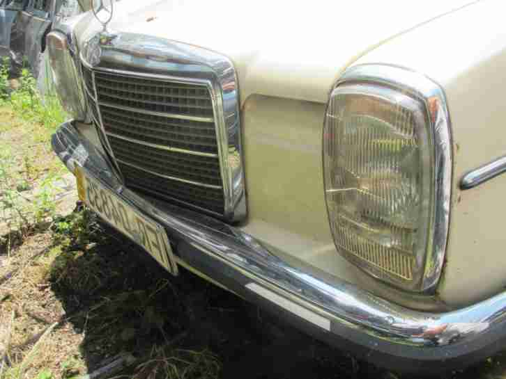 Mercedes Benz 220 D Strich 8 Vollleder