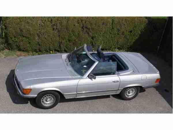 mercedes benz 280sl r107 cabrio oldtimer bj1976. Black Bedroom Furniture Sets. Home Design Ideas