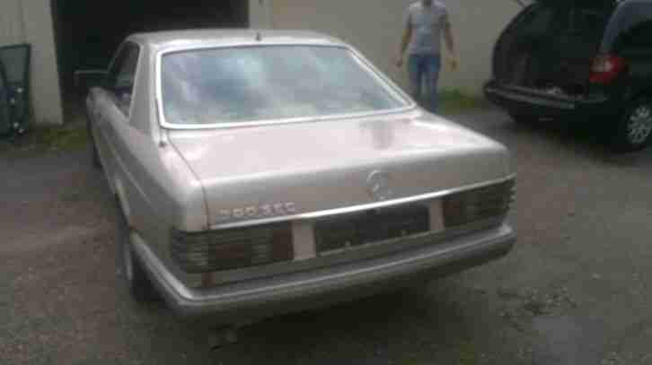 Mercedes Benz 500 sec Bj 1986
