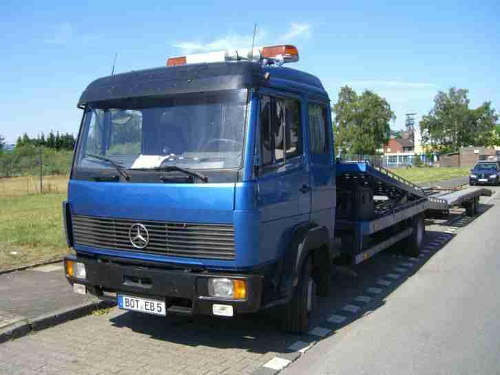 Mercedes Benz 817 L Autoransporter 2 Autos 4 Er