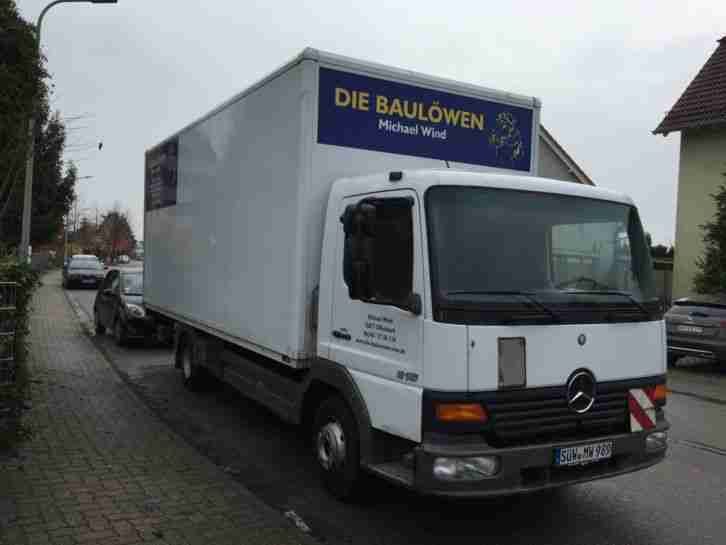 mercedes benz atego 815 lkw ladebordwand koffer nutzfahrzeuge angebote. Black Bedroom Furniture Sets. Home Design Ideas