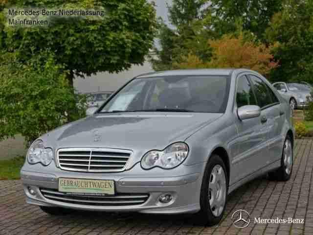 Mercedes benz c 200 kompressor classic ahk aktuelle for Mercedes benz parktronic