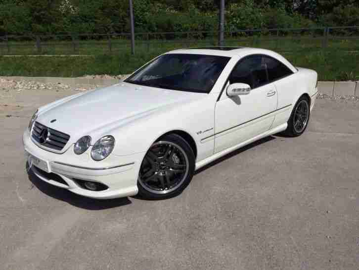 mercedes benz cl 55 amg 500 ps baujahr 2003 64 aktuelle. Black Bedroom Furniture Sets. Home Design Ideas