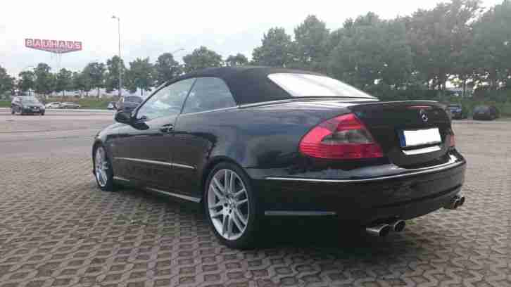 Mercedes-Benz CLK 320CDI Cabrio 7GTronic AMG Voll Paket