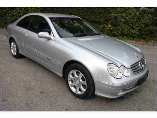 Mercedes Benz CLK Coupe 320 Elegance Leder Top
