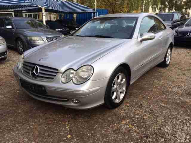 Mercedes benz clk 240 elegance leder pdc aktuelle for Mercedes benz clk 240
