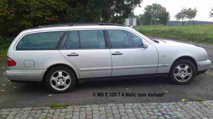 Mercedes Benz E 320 T 4matic (Avantgarde)