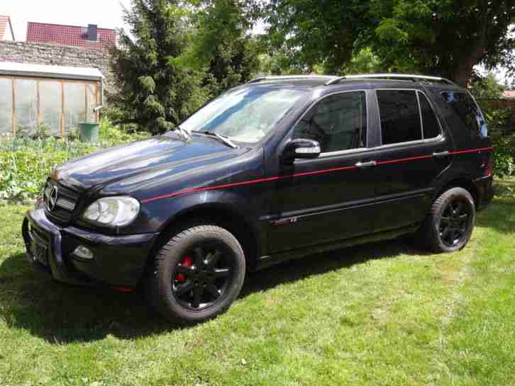 Mercedes Benz ML400 Final Edition black