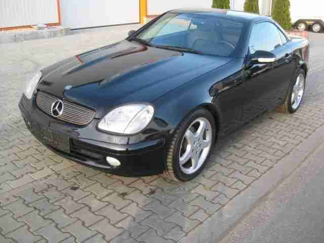 Mercedes Benz Roadster SLK 200 Kompressor 2 Hd AMG TOP