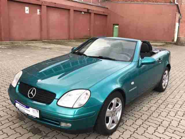 Mercedes Benz Roadster SLK 230 Kompressor, Klima, Alu, TO
