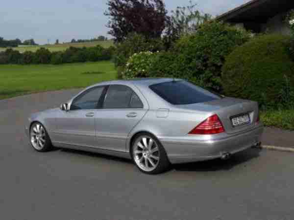 Mercedes Benz S 320 Exclusive mit Gas