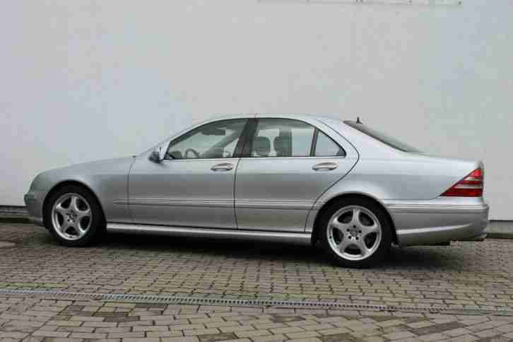 Mercedes benz s55 amg w220 lpg gasanlage v8 porsche cars for Mercedes benz s55