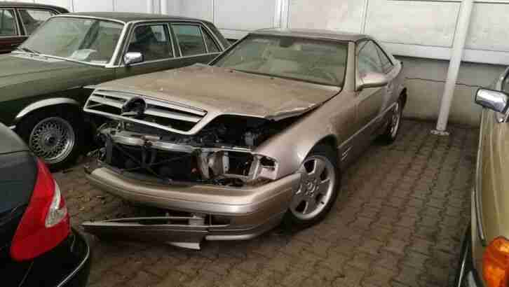 Mercedes Benz SL500 R129 Bj. 2000 2te Hand M113 225kW 306Ps