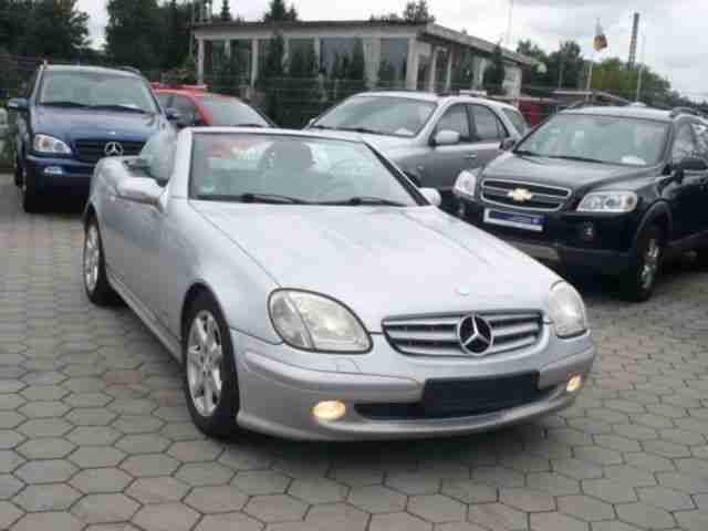 Mercedes Benz SLK 230 Kompressor Final Edit. LEDER XENO