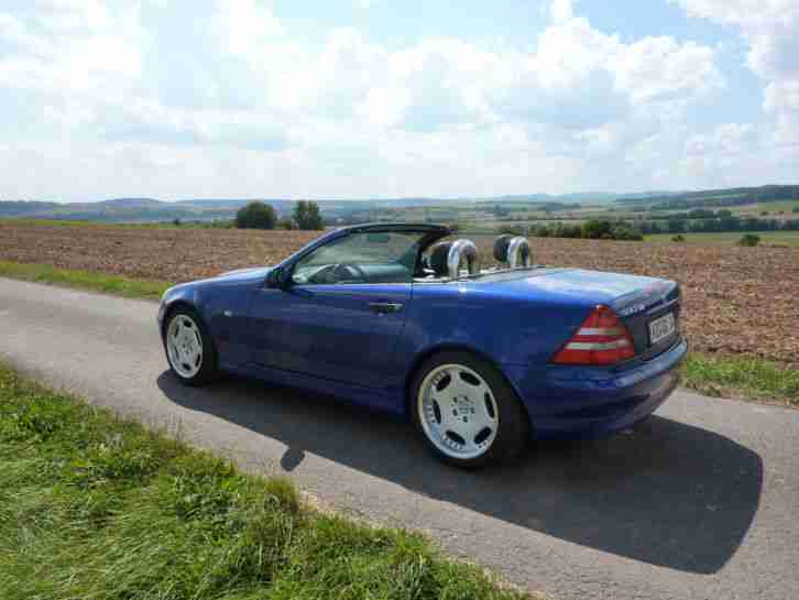 Mercedes Benz SLK 230 Kompressor Roadstar mit