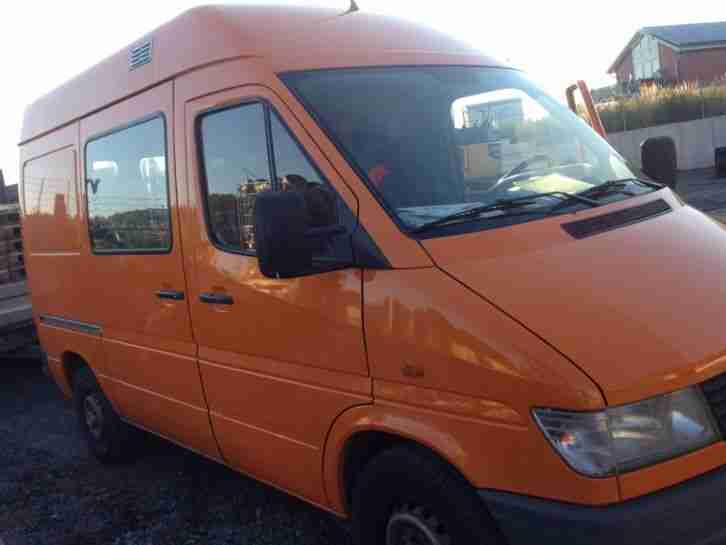 Mercedes Benz Sprinter 310 Kastenwagen orange Tüv neu kein Rost!