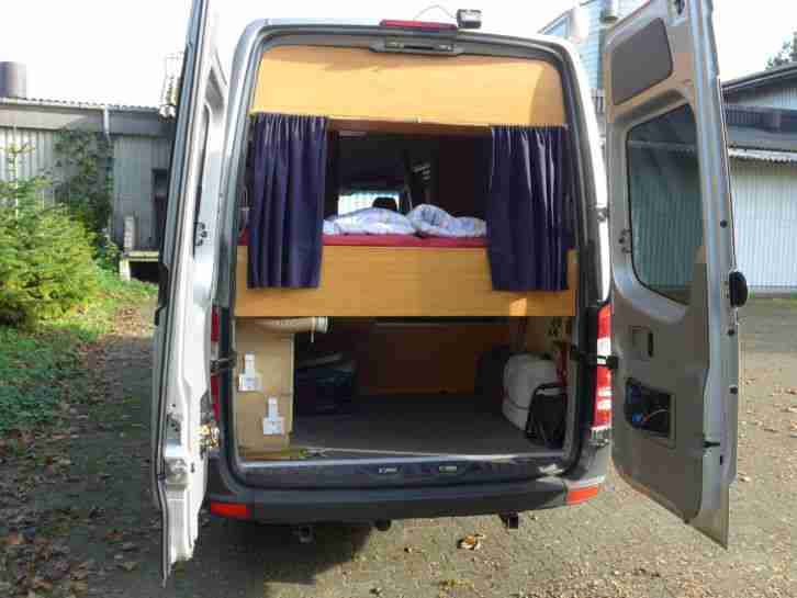 mercedes benz sprinter 311 cdi wohnmobil 117tkm. Black Bedroom Furniture Sets. Home Design Ideas