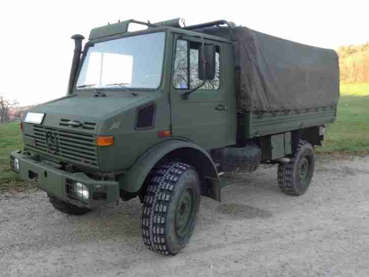 mercedes benz unimog 435 1300l pritsche plane. Black Bedroom Furniture Sets. Home Design Ideas