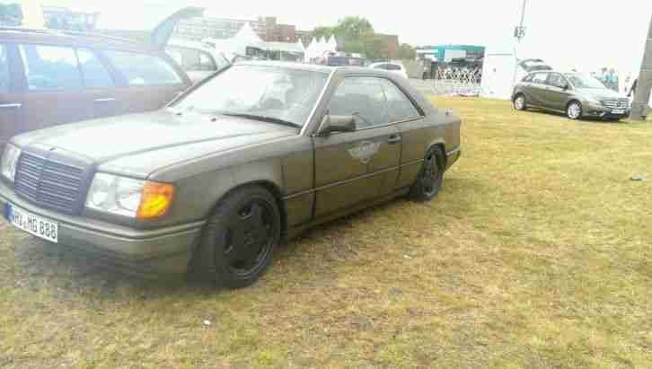 w124 230ce coupe oldschool rat look