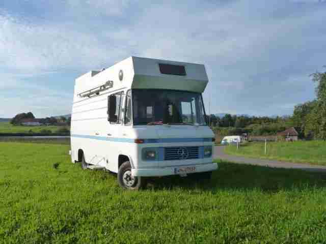 mercedes bus 508 sonder kfz wohnmobil bj 1969 wohnwagen. Black Bedroom Furniture Sets. Home Design Ideas