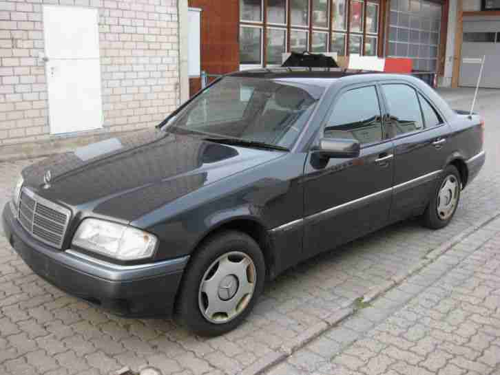 Mercedes C 180 90 KW, BJ 1995, 182000 km, Techn. ok,