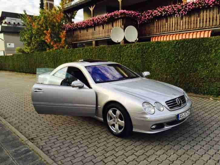 mercedes cl 500 facelift 16 9 navi distronic aktuelle. Black Bedroom Furniture Sets. Home Design Ideas