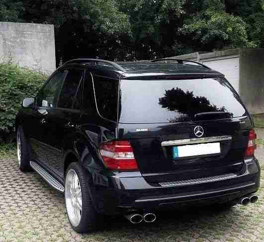 Mercedes ML 350 Brabus 4Matic 7G Tronic Motor Getriebe 1.HAND