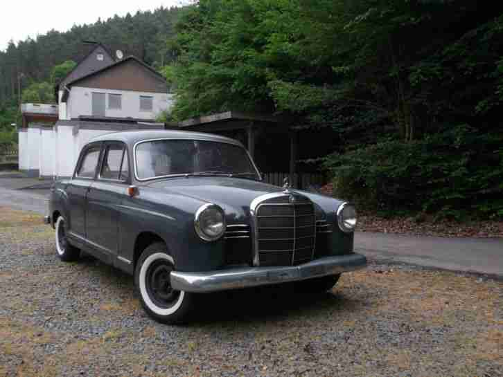 mercedes ponton 180 topseller oldtimer car group. Black Bedroom Furniture Sets. Home Design Ideas