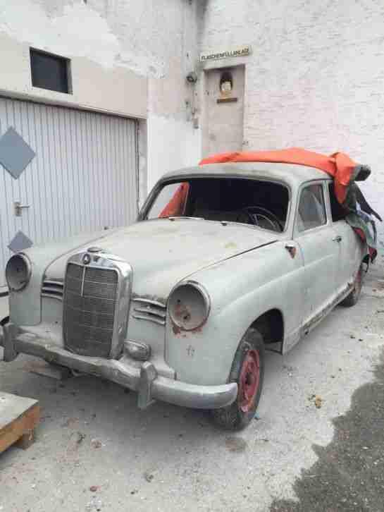 mercedes ponton oldtimer bj 1954 topseller oldtimer car. Black Bedroom Furniture Sets. Home Design Ideas