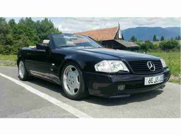 Mercedes SL 600, R129 Top restauriert, absolut
