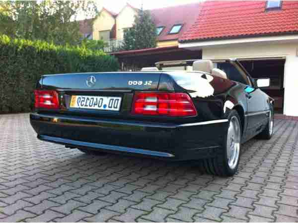 mercedes sl 600 r129 top restauriert absolut aktuelle. Black Bedroom Furniture Sets. Home Design Ideas