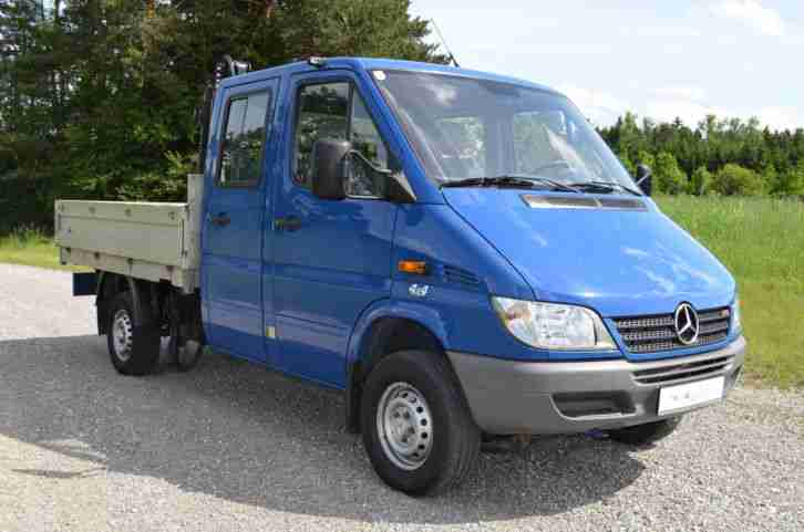 kaufe mercedes sprinter 4x4