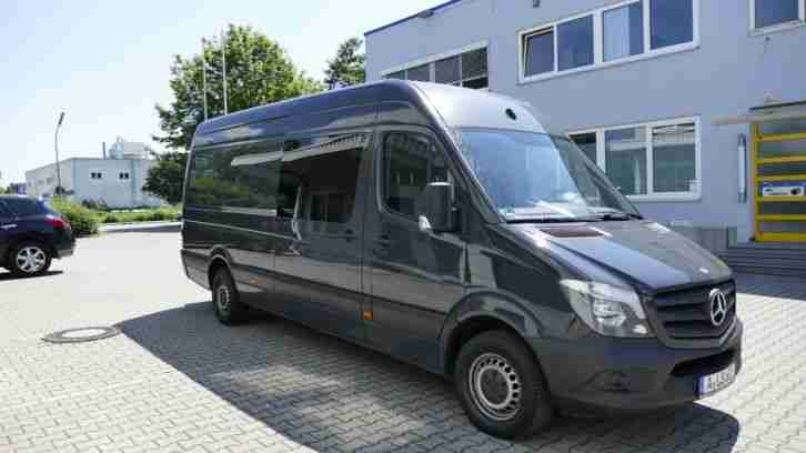 mercedes sprinter wohnmobil renntransporter wohnwagen wohnmobile. Black Bedroom Furniture Sets. Home Design Ideas