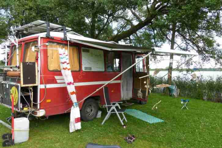 Merzedes 309 D Bus Wohnmobil Selbstausbau Wohnwagen
