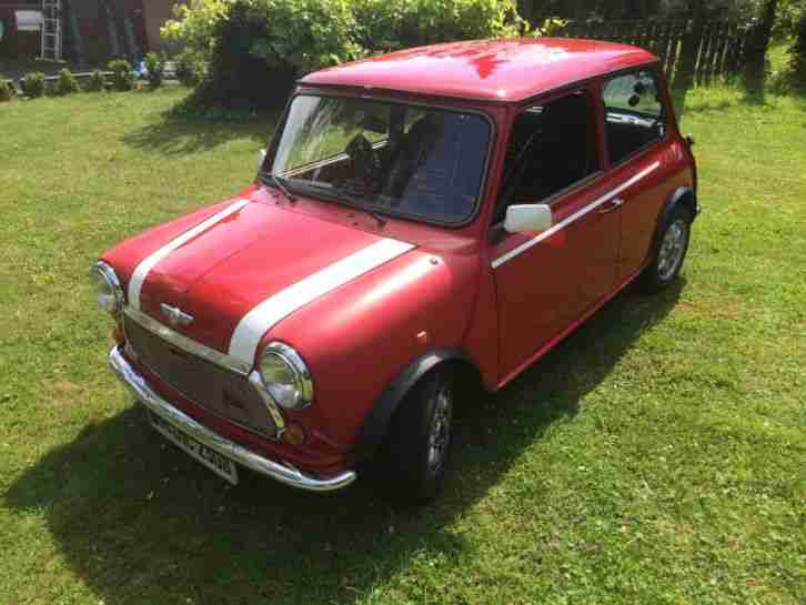 Mini Cooper MK 2 Flame Red Youngtimer in guten Zustand.