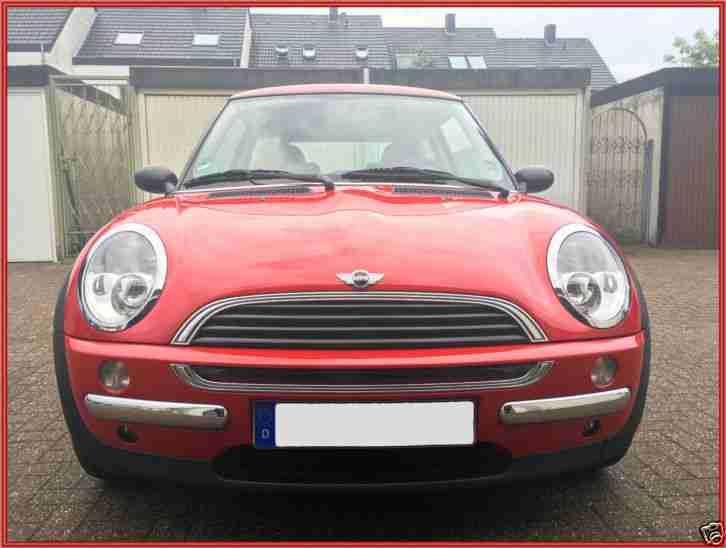 Mini one garagenfahrzeug zweitwagen in rot neue artikel for Garage renault rots