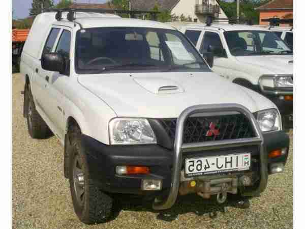L200 Double Cab, 4WD, Warn Winde Lkw