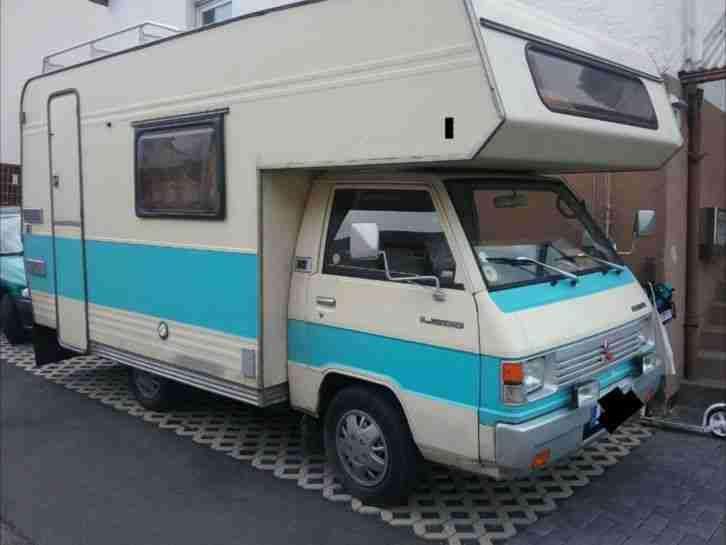 mitsubishi l300 wohnmobil wohnwagen wohnmobile. Black Bedroom Furniture Sets. Home Design Ideas