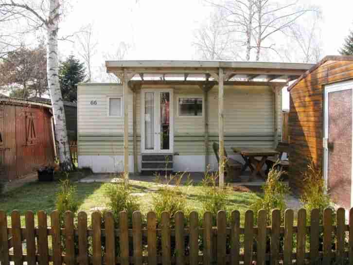 mobilheim incl carport und zubeh r camping wohnwagen. Black Bedroom Furniture Sets. Home Design Ideas