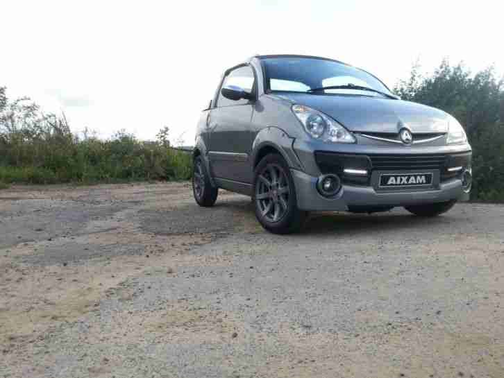 Mopedauto Aixiam Scouty r Cabrio Diesel 45 kmh