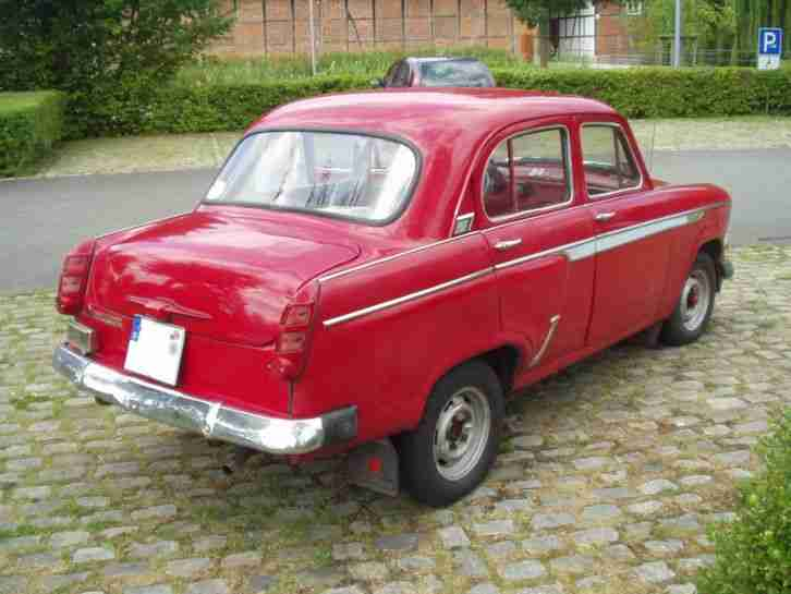 Moskwitsch 403, 1964, rot, 52 PS
