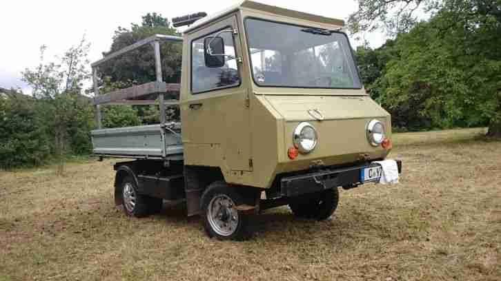 multicar m24 diesel oldtimer mit t v bis 07. Black Bedroom Furniture Sets. Home Design Ideas