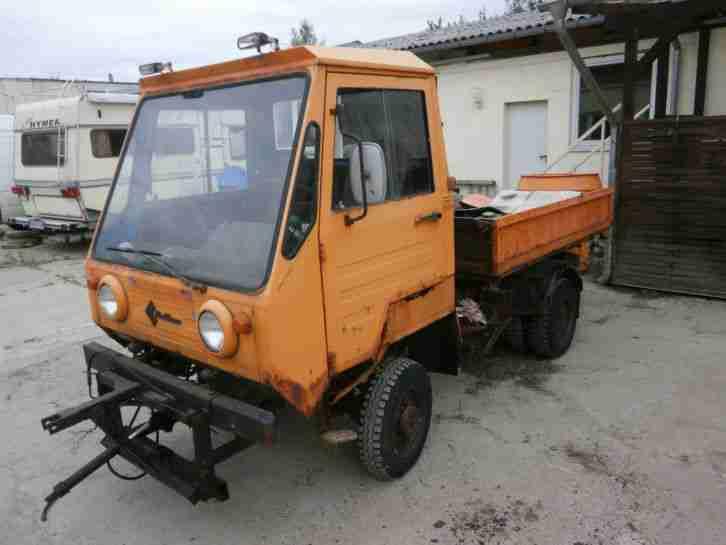 multicar m25 4x4 allrad mit streutrichter und