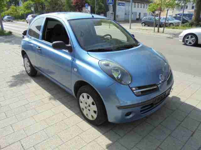 nissan micra 1 2 visia 1 hand top zustand tolle angebote in nissan. Black Bedroom Furniture Sets. Home Design Ideas