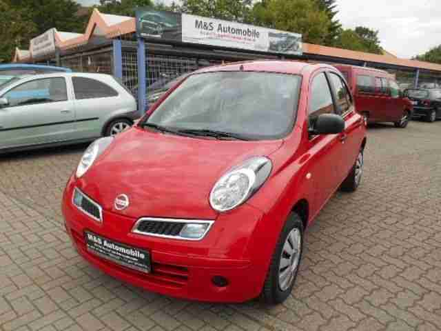 nissan micra 1 2 visia model 2010 tolle angebote in nissan. Black Bedroom Furniture Sets. Home Design Ideas