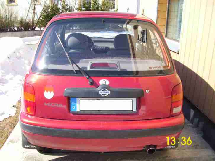 Nissan Micra sehr